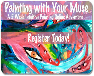 Painting With Your Muse, Intuitive painting