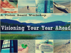 Visioning Your Year Ahead blank button