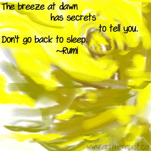 breeze at dawn