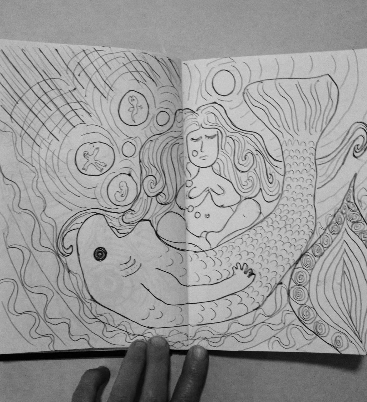 #DoodleADay Challenge Day 13 ArtTherapist.ca