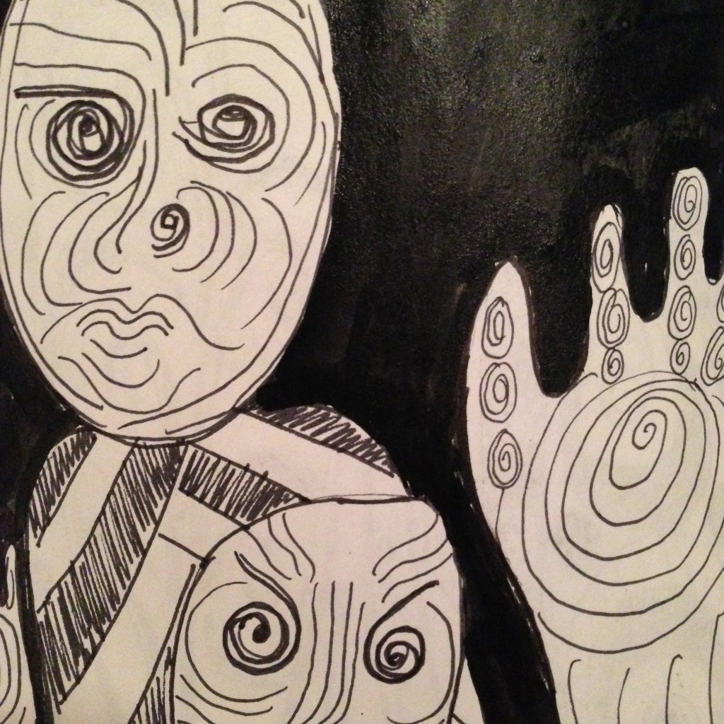 #DoodleADay Challenge Day 10 at ArtTherapist.ca Close-up 3