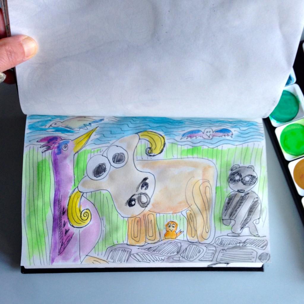 #DoodleADay Challenge Day 11 ArtTherapist.ca