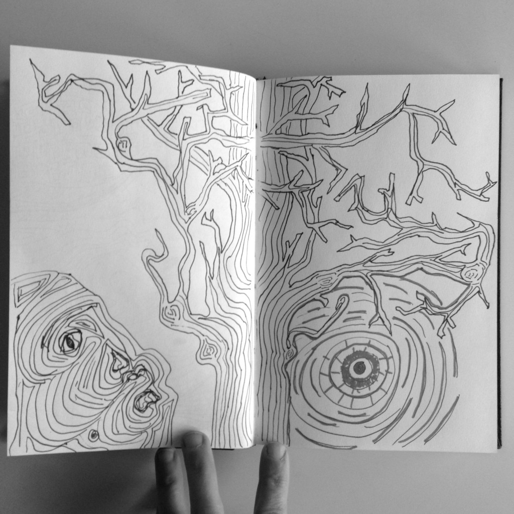 #DoodleADay Challenge Day 12 Tree ArtTherapist.ca