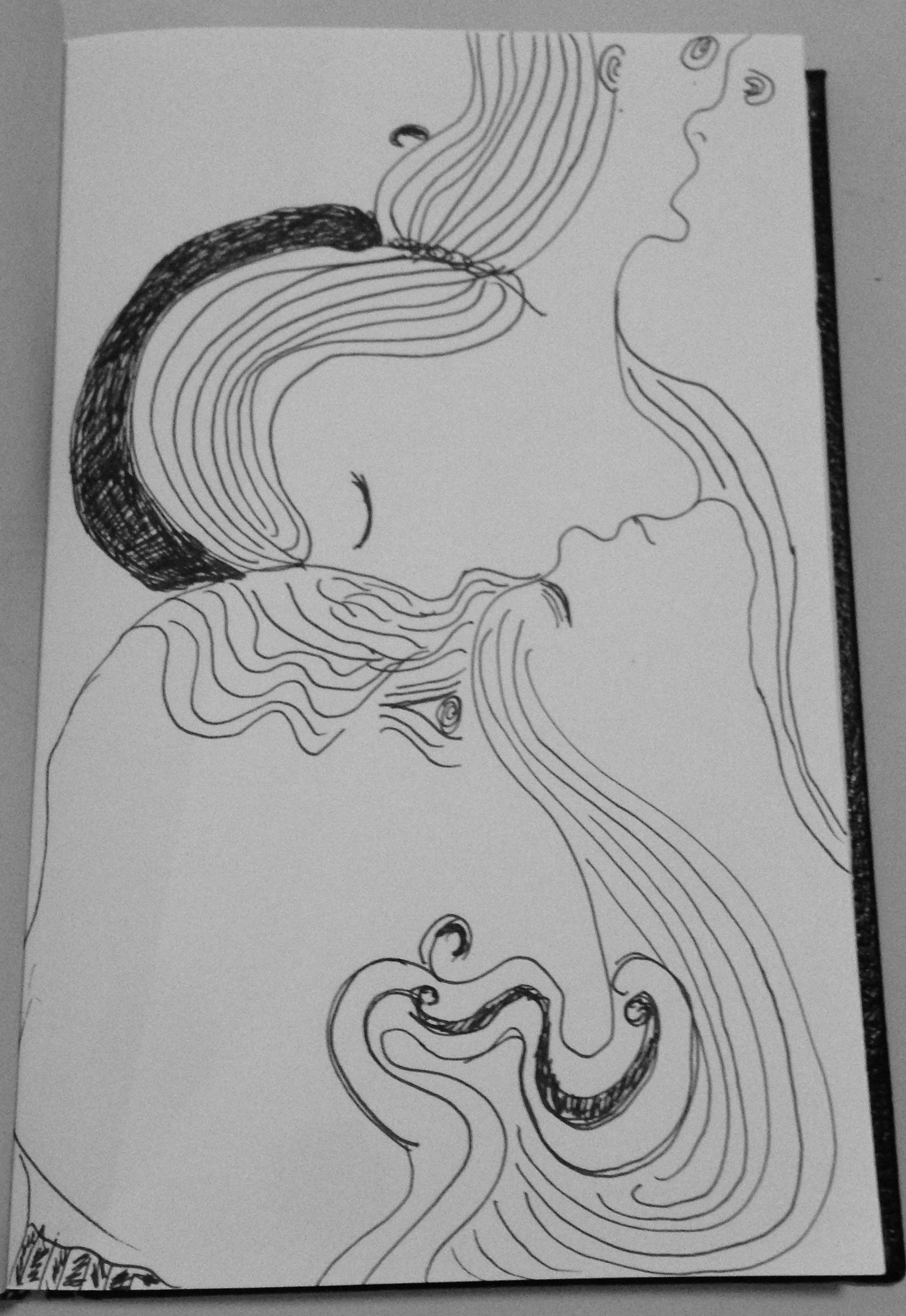 #DoodleADay Challenge day 15 faces 2