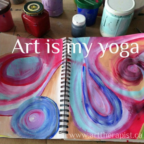 art is my yoga