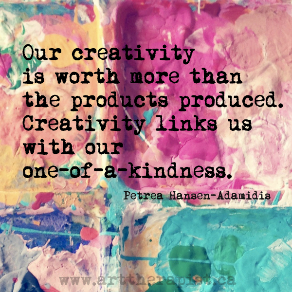 Creativity and one of a kindness
