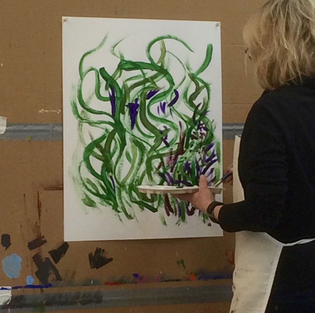 intuitive painting marks