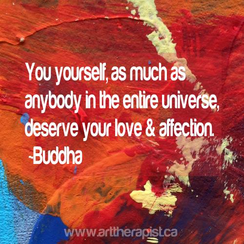 deserve love budda