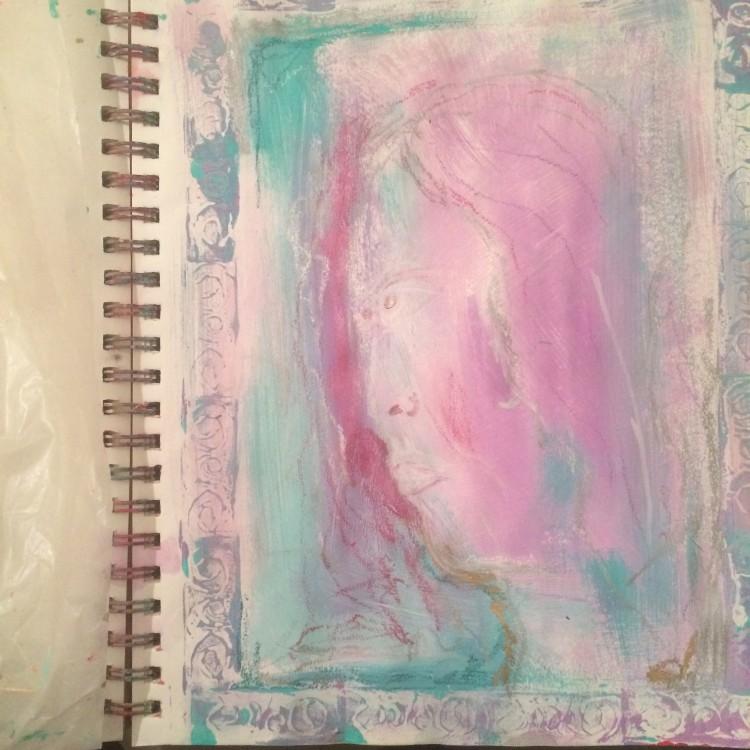 art journaling #createeachday