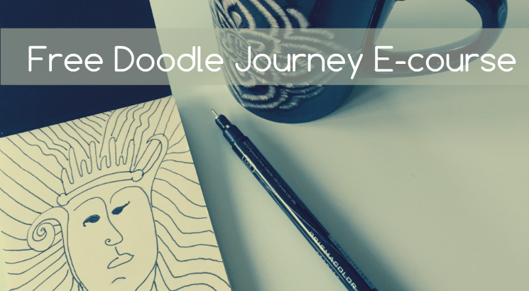 Free Doodle Journey Ecourse for self-expression and relaxation